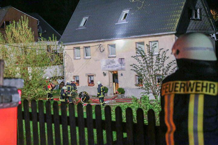 81 Kameraden der Feuerwehr waren im Einsatz.