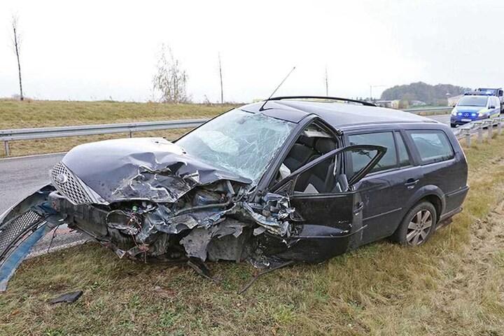 Zwei Verletzte sind die traurige Bilanz eines Unfalls am Mittwoch in Zwickau.