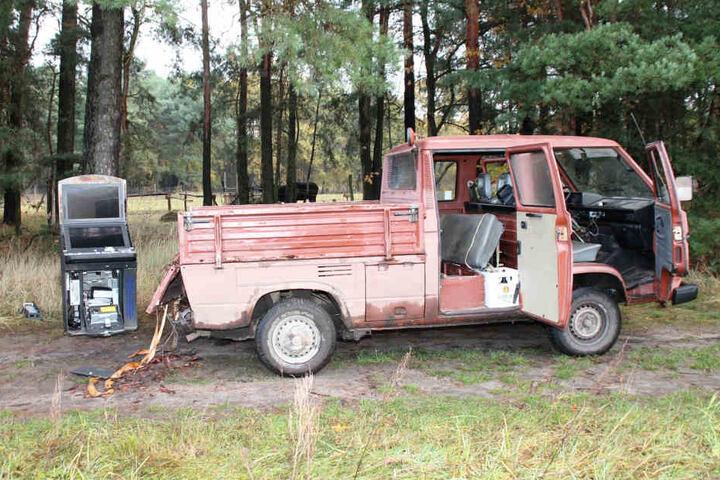 Bereits im November nutzte eine Bande in Hoyerswerda ein Auto zum  Einbruch.