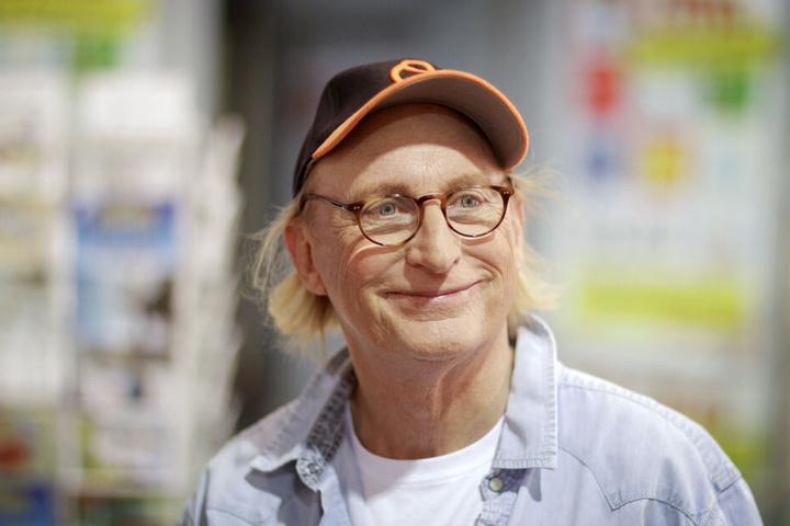 Der Komiker Otto Waalkes ist auf einer aktuellen Edeka-Werbung zu sehen.