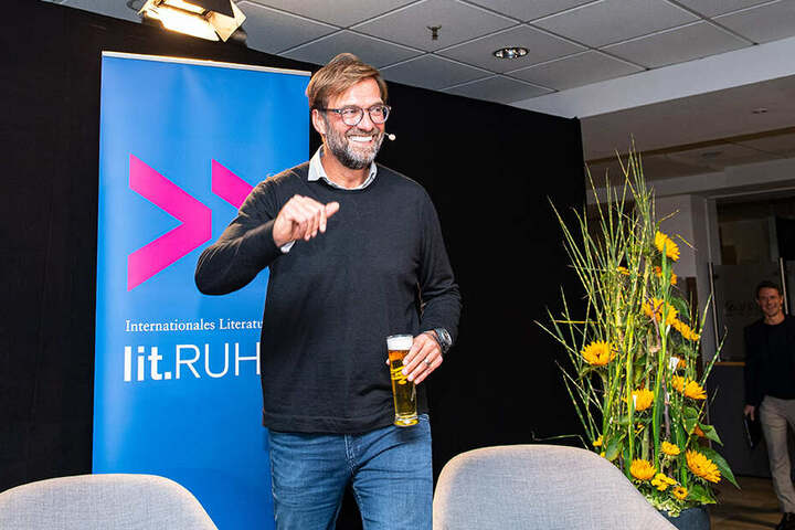 Kühles Bierchen, heiße Sprüche: Jürgen Klopp ist und bleibt ein Original.