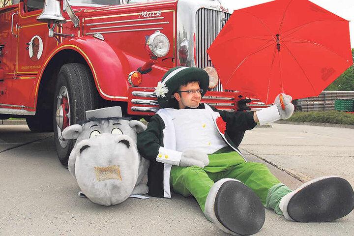 Auch Thomas Schuster steckte einige Jahre unterm Kostüm. In diesem Jahr tritt  er seinen Job an Lehrer Becker ab.
