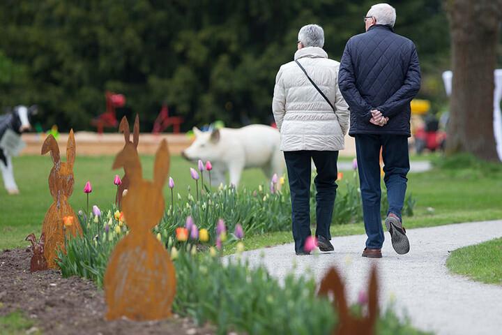 Bis zum 15. Oktober können Besucher nach Bad Lippspringe pilgern und die Gartenschau genießen.