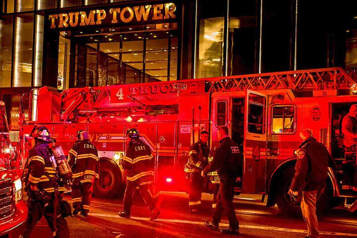 Fast 200 Feuerwehrleute waren im Einsatz.