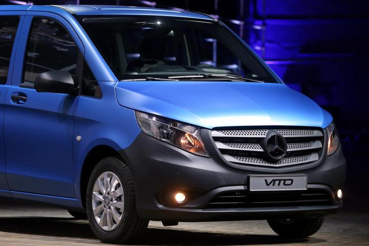 40.000 Dieselmotoren im Mercedes Vito sind betroffen.