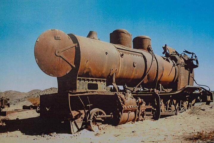 Die Hedschasbahn war das erste Projekt von Meißner. Die Strecke führte bis nach Medina.