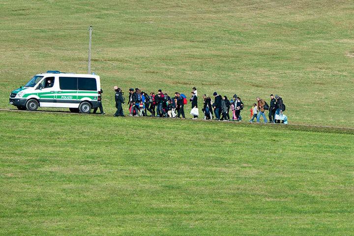 Im Vogtland wurden mehrere illegal eingereiste Iraker erwischt. (Archivbild)