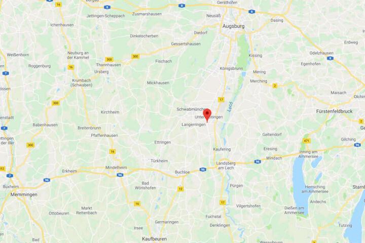 Die Tragödie ereignete sich in Obermeitingen im Landkreis Landsberg am Lech in Oberbayern.