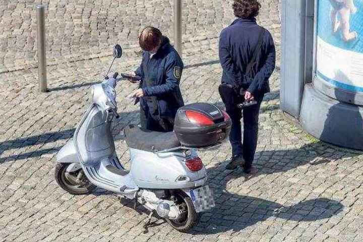 Motorradfahrer werden gern zur Knöllchen-Kasse gebeten.