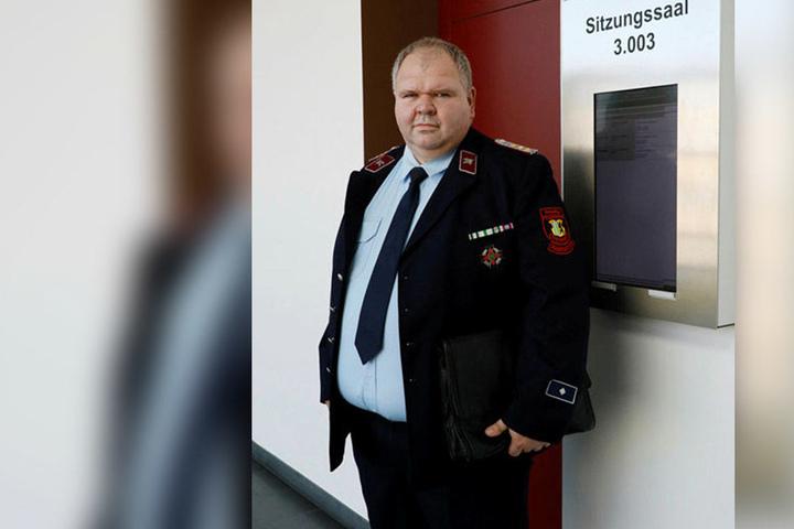 Fordert Verständnis für Polizei, Feuerwehr und Rettungsdienst: Thomas Lange (49).