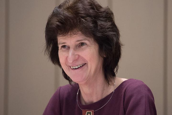 Kunstministerin Eva-Maria Stange (61, SPD).
