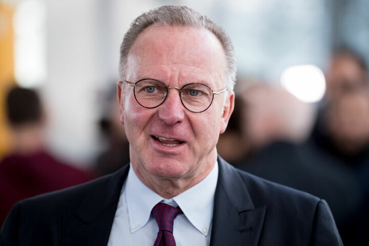 Der Vorstandsvorsitzende der FC Bayern München AG, Karl-Heinz Rummenigge.