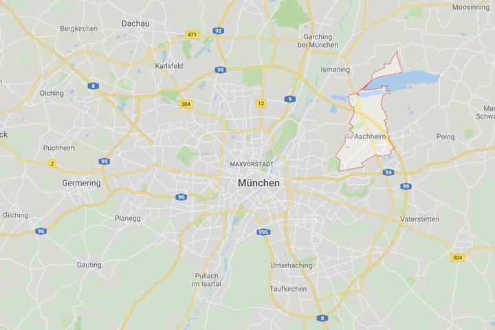 In Aschheim hat ein Zeuge einen Mann mit einer Schusswaffe gesehen, es folgte ein Großeinsatz.