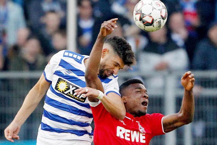 Schlusslicht Duisburg erkämpfte gegen den FC einen Punkt.