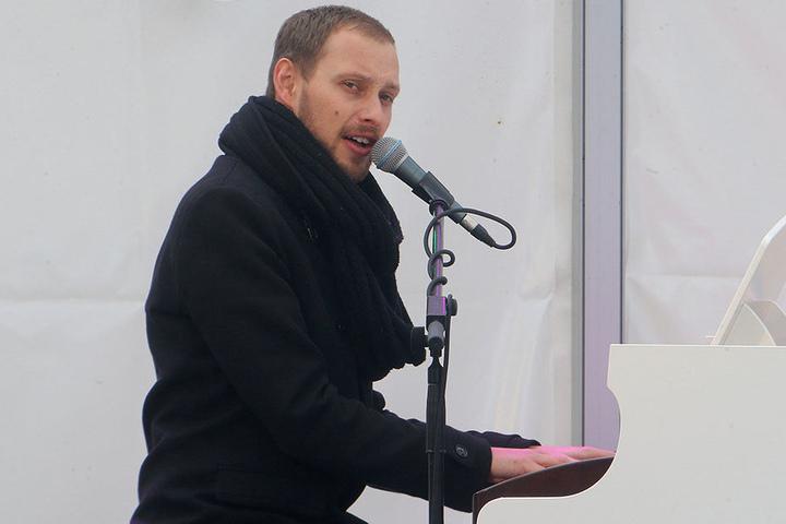 Die Begegnung mit Musiker Martin Schmitt (29, Foto) brachte Harry Herrmann (51) auf die Idee, Joe Cocker zu doubeln.