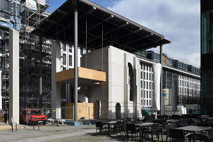 Die Busmann-Kapelle am Postplatz.
