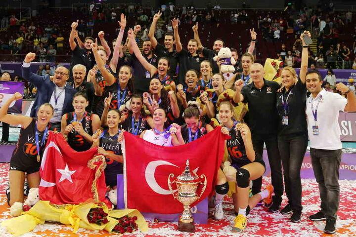 2016 gewann Eczacibasi Vitra Istanbul gegen Pomi Casalmaggiore die Volleyball Women's Wolrd Championship.