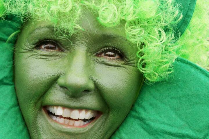 Am St. Patricks Day wird traditionell die irische Kultur gefeiert und alles in grün getaucht. (Archivbild)