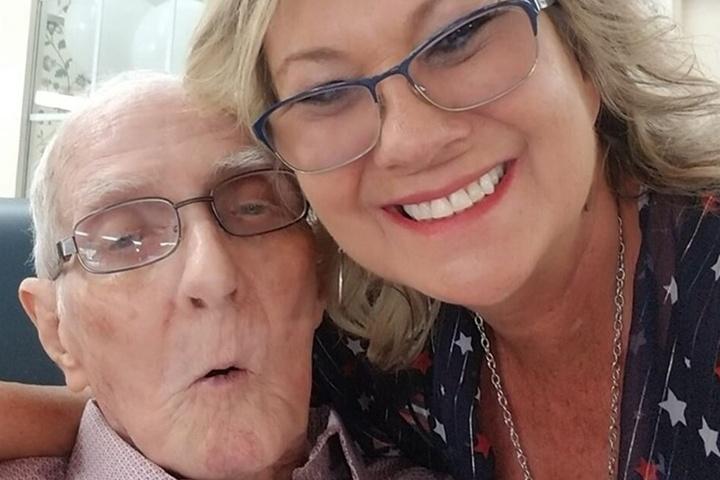 Herbert (†94, li.) kümmerte sich zum Schluss noch um seine an Demenz erkrankte Frau.