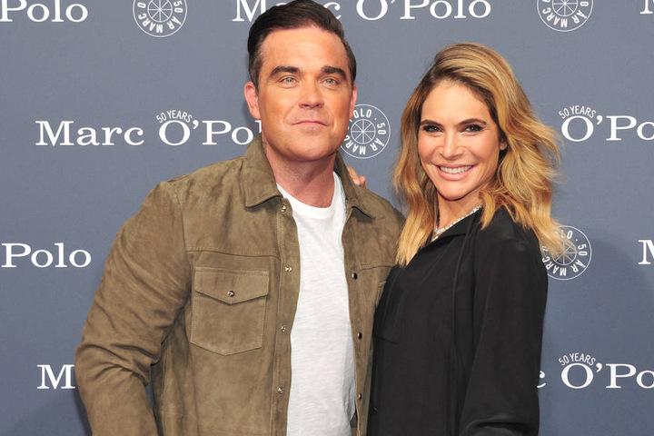 Robbie Williams und seine Frau Ayda Field Williams waren erst im Juli bei einer Party anlässlich des 50. Geburtstags von Marc O`Polo in Stephanskirchen bei Rosenheim.