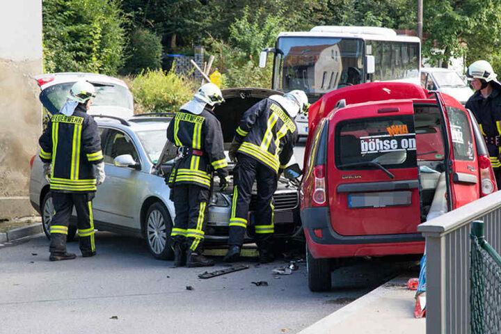 Wie es zu dem Unfall kam, wird derzeit noch ermittelt.