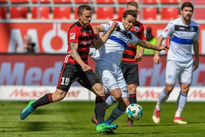 Obwohl die Ingolstädter in der ersten Halbzeit mehr vom Spiel hatten, reichte es erst mal nicht, um in Führung zu gehen.