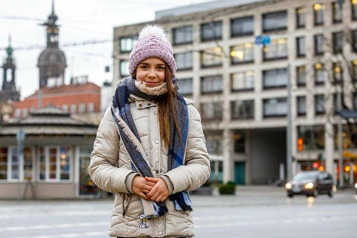"""Cora Rockstroh (11), Schülerin aus Hirschfeld: """"Ich will weniger Gummibärchen essen! Vor allem die roten, die nach Himbeere schmecken! Denn wenn ich zu viele davon esse, schmecken mir die Gummibärchen irgendwann gar nicht mehr."""""""