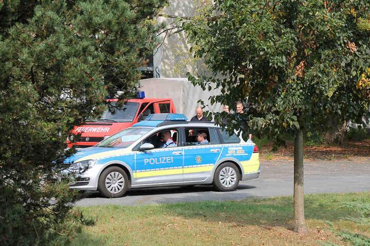 In der Hufelandstraße in Hoyerswerda wurde der Automat wiederentdeckt.