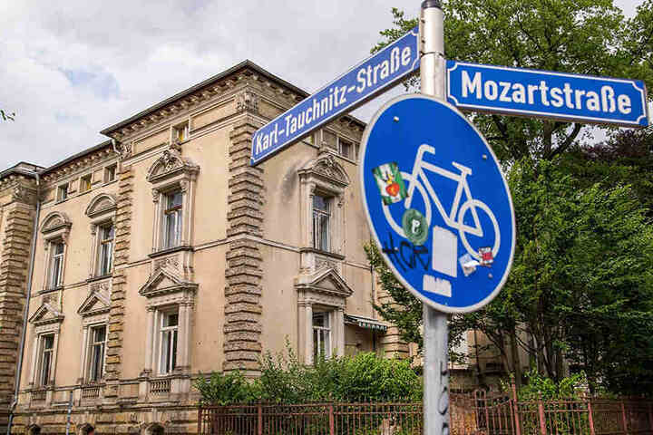 Die Villa Lieberoth-Leden in der Karl-Tauchitz-Straße würde Sachsen dem Bundesgerichtshof zur Verfügung stellen.