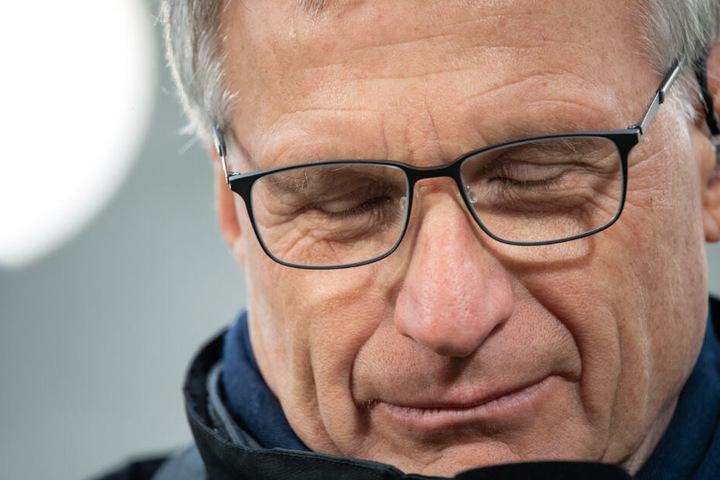 Michael Reschke war von August 2017 bis Februar 2018 Sportvorstand des VfB Stuttgart.