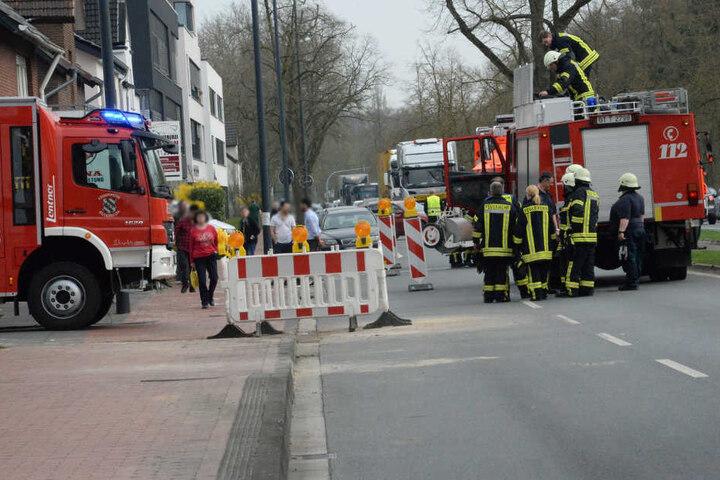 Die Feuerwehr konnte den Brandherd schnell ausfindig machen können.