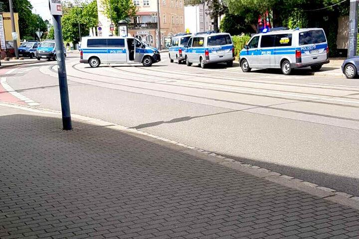 Als die Polizei vor Ort eintraf, waren nicht mehr alle beteiligten Personen vor Ort.