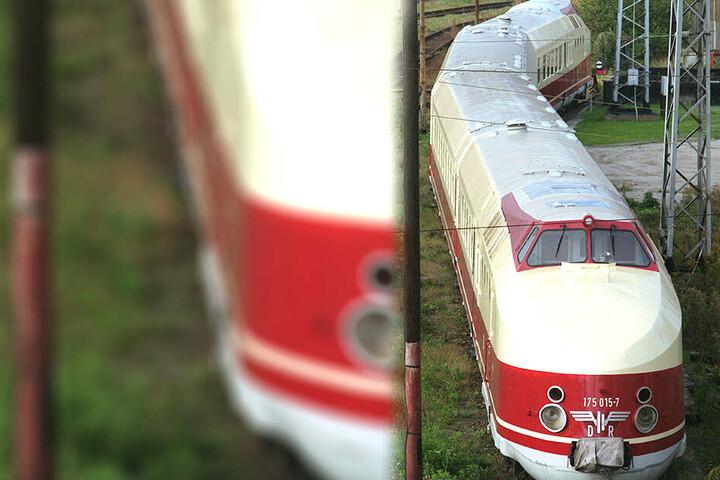 Der historische, in Görlitz gebaute DDR-Schnellzug nach Wien.