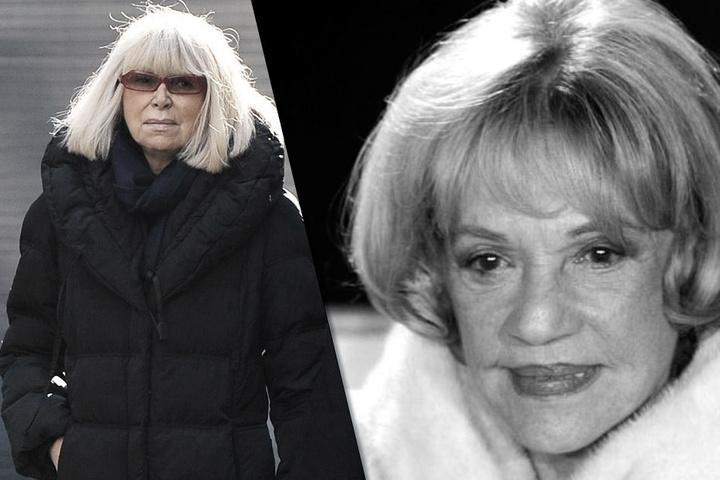 Mireille Darc und Jeanne Moreau.