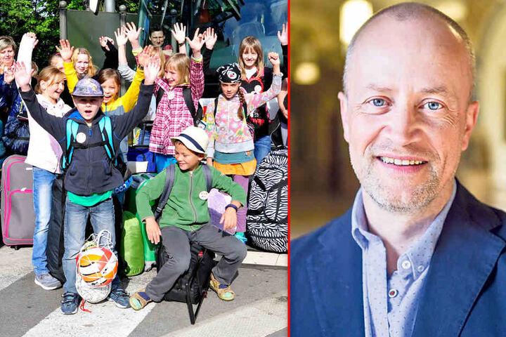 Mathias Hofmann (51) vom Vorstand der Kindervereinigung verhandelt derzeit  mit dem Jugendamt.