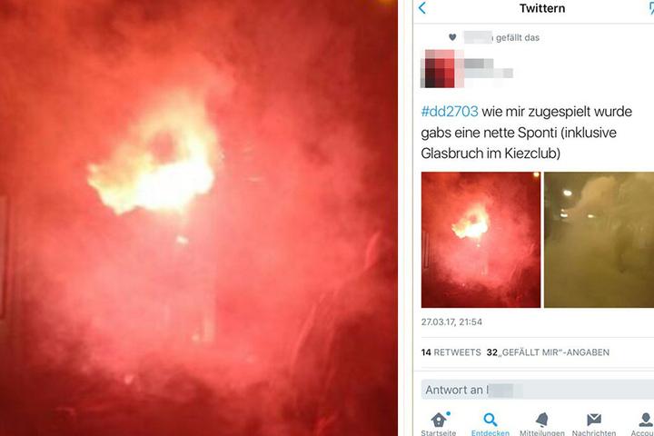 Auf Twitter feierten Nutzer den Angriff.