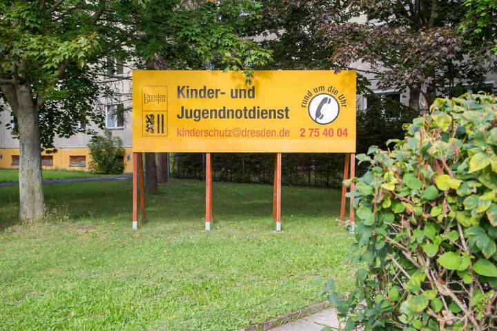 43 minderjährige Dresdner befinden sich in der Obhut des Kinder- und  Jugendnotdienstes.