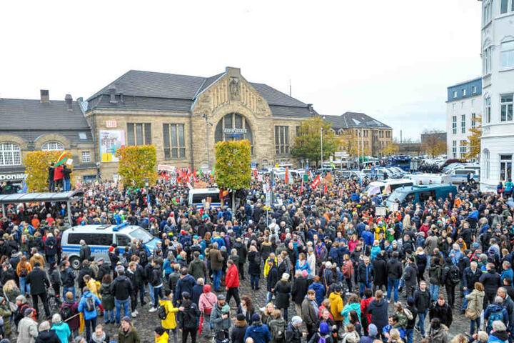 In Bielefeld herrschte an diesem Tag Ausnahmezustand.