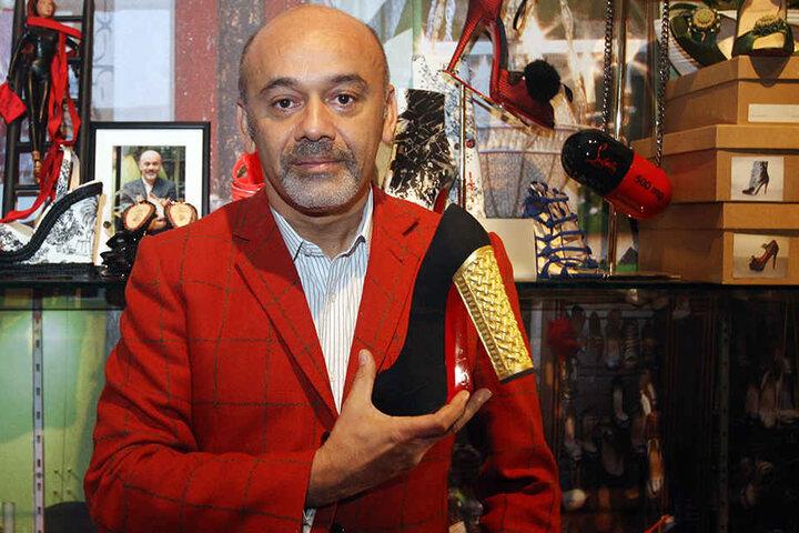 Der französische Schuh- und Taschendesigner Christian Louboutin.