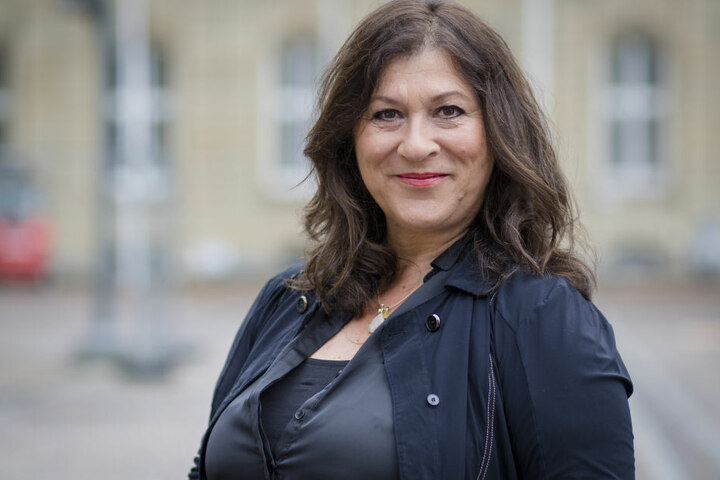 Schauspielerin Eva Mattes spielt im Bodensee-Tatort die Rolle der Kriminalhauptkommissarin Klara Blum.