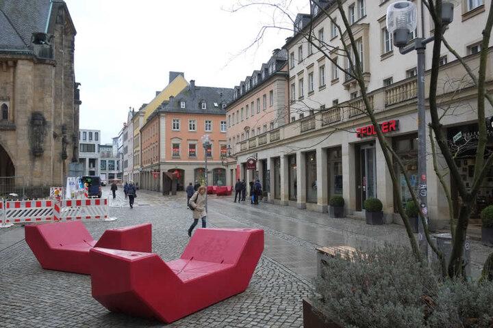 Noch herrscht Ruhe in der Inneren Klosterstraße. Im Sommer soll hier das WM-Leben toben.