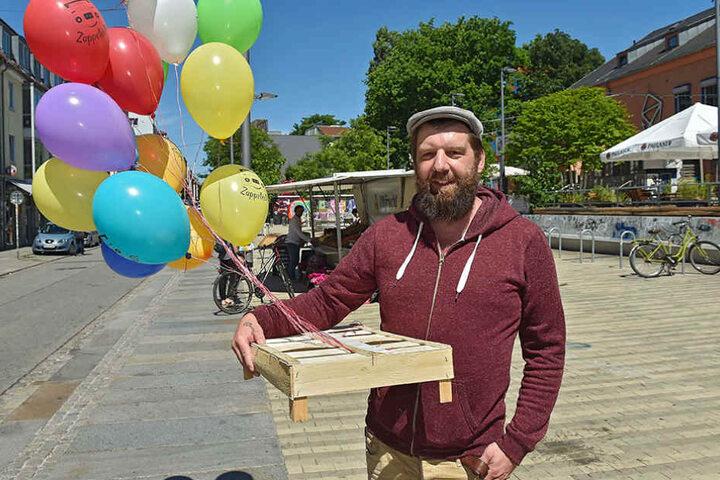 Er will mit neuen Ideen für eine friedliche Belebung sorgen: Olaf Hornuf (47)  vom Scheune-Verein.