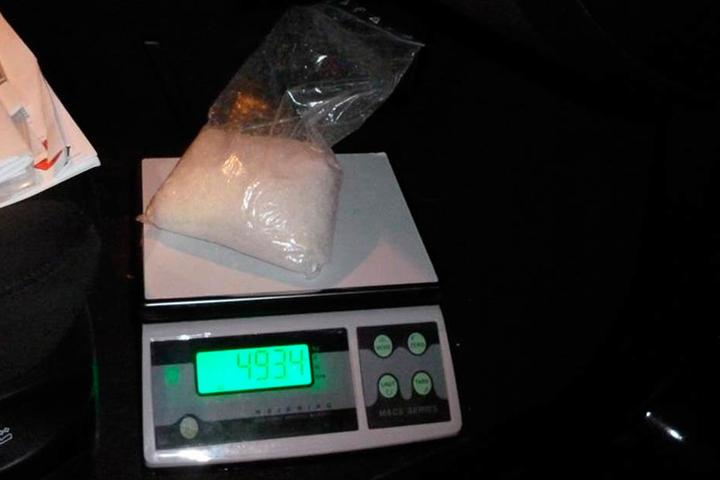 Der Angeklagte dealte mit großen Mengen Crystal.