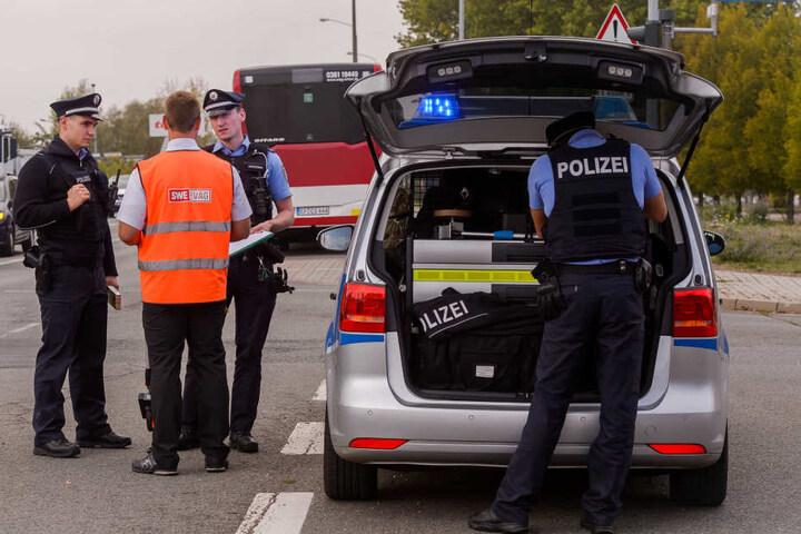 Die Polizei musste sich um gleich zwei Unfälle kümmern.