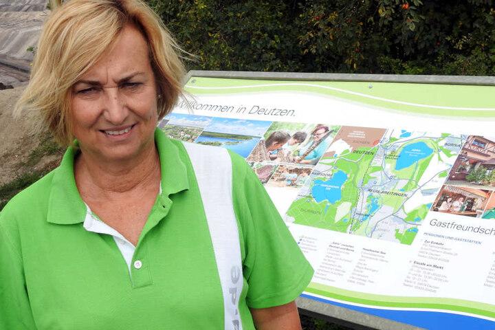 Der Staubschutz solle die Anrainergemeinden entlasten, sagt MIBRAG-Sprecherin Sylvia Werner (59).
