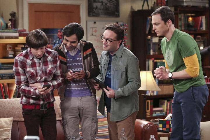 Das große Vorbild der YouTube Mini-Serie: Die Geschichten um die Super-Hirne Howard, Raj, Leonard und Sheldon.