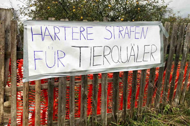 Die Nachbarn fordern nun härtere Strafen für die Tierquäler.