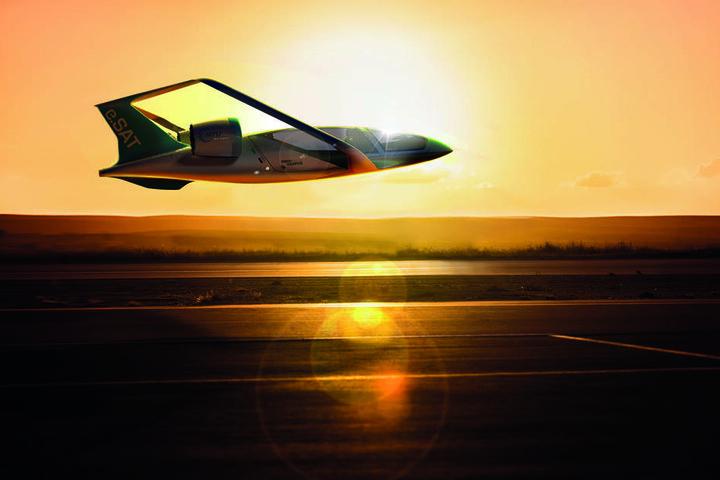 Das electrohybride Kleinflugzeug soll besonders leise sein.
