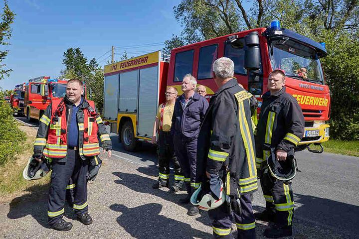 Die Rettungskräfte waren umgehend am Unfallort.