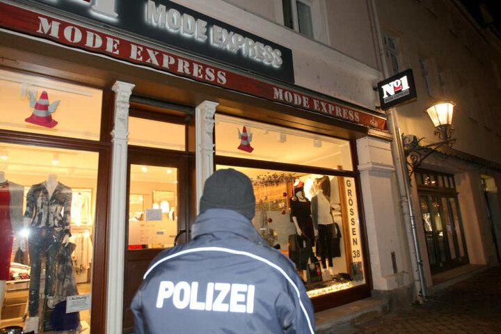 Am Donnerstag wurde ein Modegeschäft in Pirna ausgeraubt.
